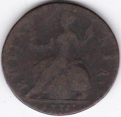1771 George III Half-Penny***Collectors***Copper***
