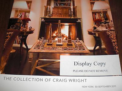 The Collection Of Craig Wright.  Auktionskatalog. Sehr  Guter  Zustand . Results