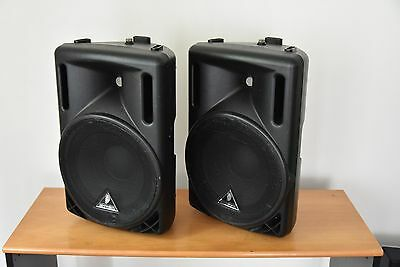 Behringer Eurolive B212A Active PA Disco Speakers