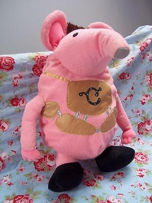 Major THE CLANGERS Retro novelty Hot Water Bottle Cover/PJ Case +famous Whistle