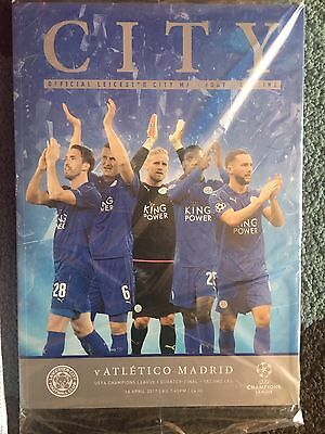Leicester City V Atletico Madrid Programme