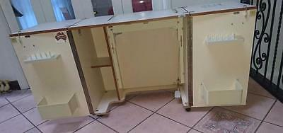 Horn Sewing Cabinet Model CV94  with Foot pedal Horn lifter - OK condition