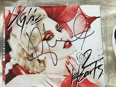Hand Signed Kylie Minogue Chocolate CD With COA - PWL Kylie