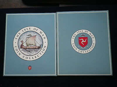 Isle of Man 1990  Coin Collection Set. (Unc)