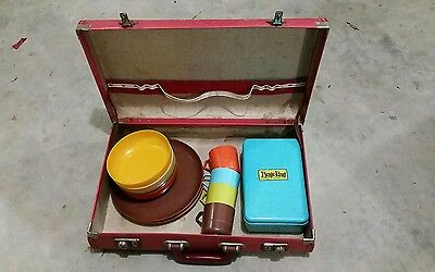 Vintage Picnic Set and case retro Picnic King