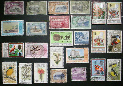 Trinidad & Tobago: Collection Of 25 Used Stamps: Lot 5