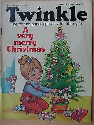 TWINKLE COMIC - 25th DECEMBER 1971 - XMAS EDITION