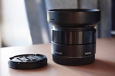SIGMA 30mm F2.8 DN ART LENS for SONY E MOUNT A6000 6300 6500 Apsc