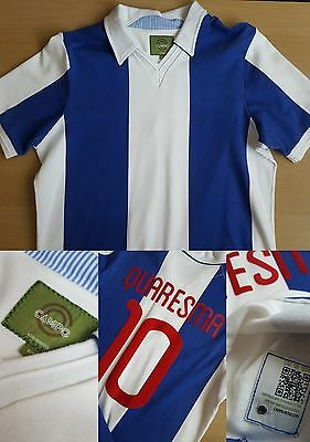 FC Porto Home Retro Shirt Quaresma 10 - Small/Medium - Campo Retro