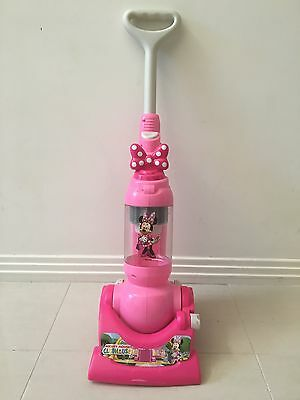 Disney Minnie Mouse Toy Vacuum Cleaner - Pink