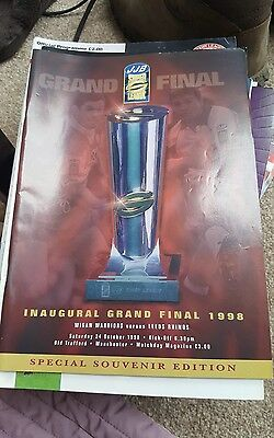 Wigan Rugby League Grand Final 1998 VS Leeds Rhinos