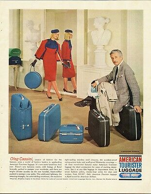 1963 Vintage ad for American Tourister Luggage (050914)