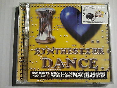 """I LOVE SYNTHES12""""ER DANCE vol.3 (Cd) Cyber People Koto Ego - Italo / Mint S/S."""