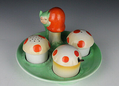 Shelley BooBoo Cruet Set.