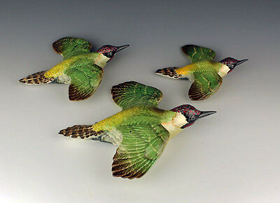 Beswick Green Woodpeckers nos. 1344.