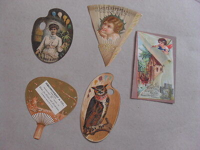 Vintage Paper/ephemera - Scrap Book Pieces - 5 Items