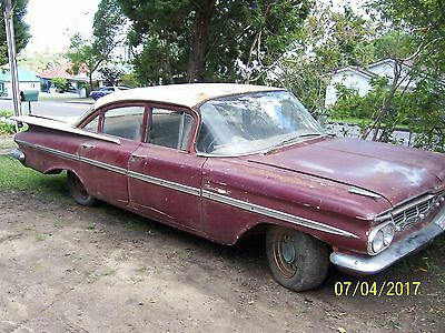 1959 Chev bel air project