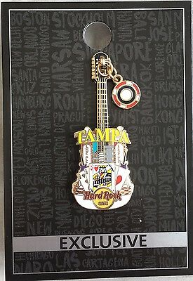 !!! Hard Rock Café Tampa Dangling City Guitar Pin !!! NEU !!!