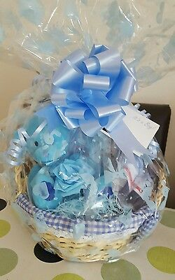 Baby infant newborn boy gift basket hamper present