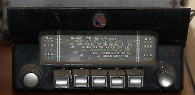 FC Holden Origional Equipment Air Chief car radio. The real thing