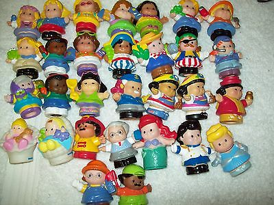 Fisher Price Little People Bulk Lot Of 30