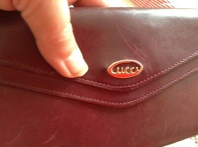 Gucci vintage purse leather