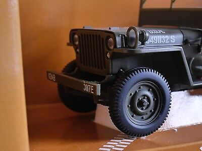 Boxed UT Models Willys Jeep Diecast Model Car 4x4 Military 1:18 MIB