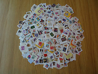 Stamps Usa  500  Mixture / Collection On Paper Pack 1 Lv   America