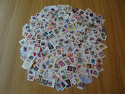 Stamps Usa  500  Mixture / Collection On Paper Pack 2 Lv   America