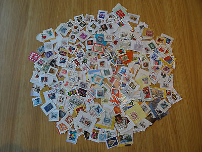 Stamps Usa  300  All Different / Mixture / Collection   On Paper America Pk 1Lv