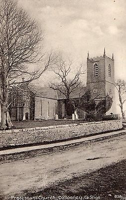 Protestant Church Collooney Co. Sligo Ireland Postcard Kilgannon Photographer
