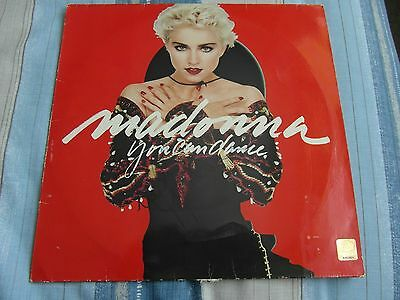 Signed Madonna You Can Dance Vinyl Lp With Coa