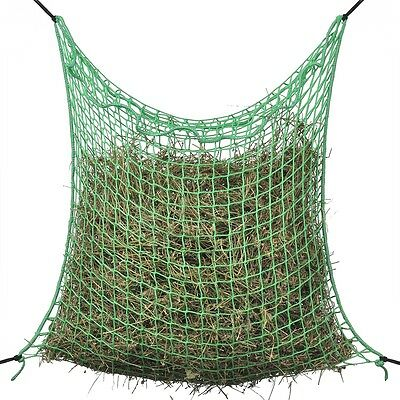 Slow Feeding Feeder Bale Hay Net Square 0.9x3 m PP Horse Pony Cattle Stable