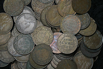 Lot of 84 Canada Large Cents King Edward - Nice Condition