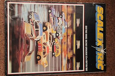 Rare Vintage Scalextric International Motor Racing 23Rd Edition Catalogue 1982