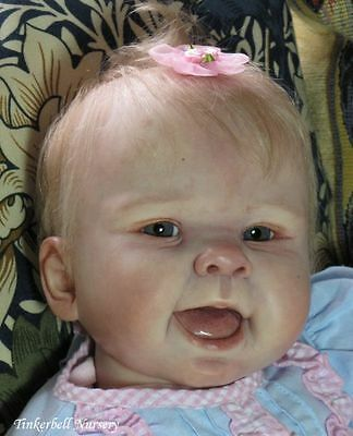 """Nala by Sandy Faber New Reborn Baby Doll Kit @ 22""""@Vinyl Parts Only"""