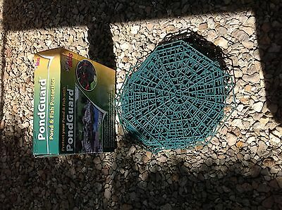 60 fish pond floating guard deterrant and fish protector