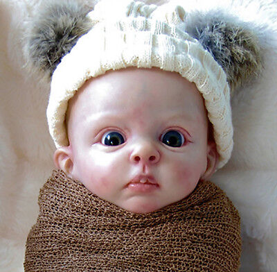 """Bambi By Bonnie Sieben New Released Reborn Baby Doll Kit @18""""@Body Included"""
