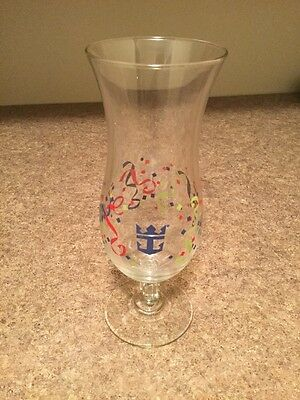 Royal Caribbean Hurricane Glass - Confetti Pattern