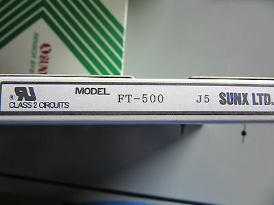 Sunx FT-500 Fiber Optic Cable Set NEW!!! in Factory Box Free Shipping