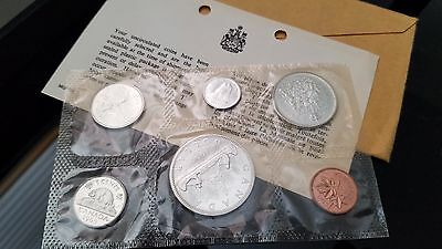 1965 Royal Canadian Mint Uncirculated 6 Coin Set