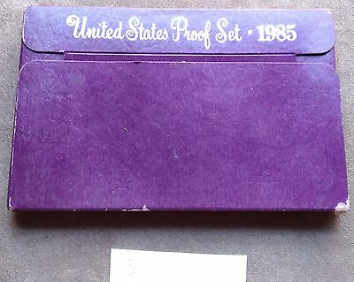 1985 United States Proof Set by US Mint -3