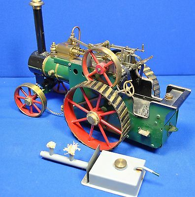 D R Mercer approx. ¾ inch scale live steam Traction Engine