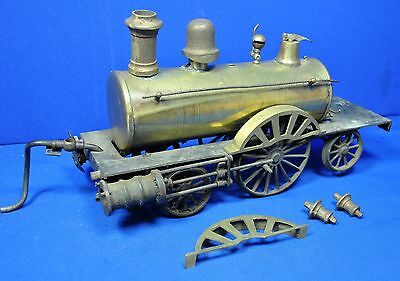 Large size Victorian six wheeled  live steam dribbler Locomotive c1890 a project