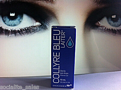 NEW Original Laiter Collyre Bleu 10mL Liquid Eye Drops BUY IT NOW