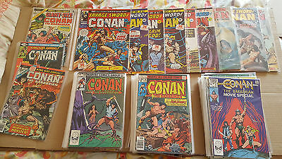 Conan Barbarian - Savage Sword - King Conan - Massive Collection   66 Issues Lot
