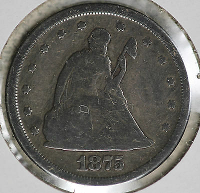 1875-S Twenty Cent Piece!!