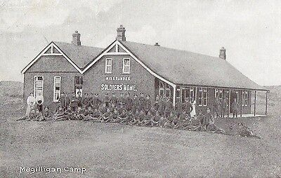 MAGILLIGAN CAMP (near Limavady) CO. DERRY LONDONDERRY Miss. SANDES SOLDIERS HOME