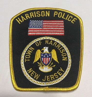 Harrison Police - Town Of Harrison New Jersey Police Patch