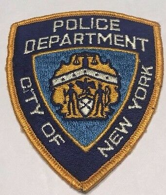 POLICE DEPARTMENT City of New York PATCH